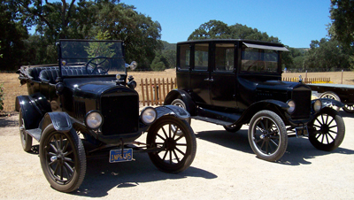 Model T Touring Cars