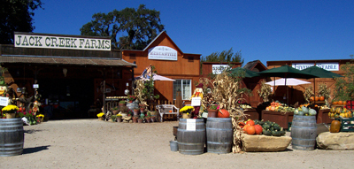 Roadside Stand and Farm Store at Jack Creek Farms